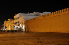 Old city wall of Essaouria Stock Photo