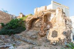Old city wall - Greece, Chania Royalty Free Stock Photo