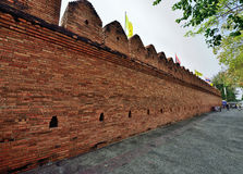 Old City Wall In Chiang Mai, Thailand Royalty Free Stock Photos