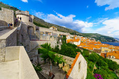 Old City Walls, Dubrovnik Royalty Free Stock Photo