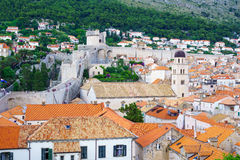 Old City Walls, Dubrovnik Royalty Free Stock Image