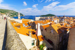 Old City and Walls, Dubrovnik Royalty Free Stock Photos