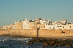 Old city walls of Essaouira Stock Photo