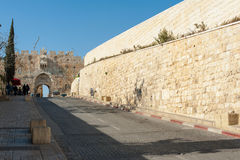 Old City Walls Stock Image