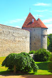 Old city walls of Tallin Stock Photography