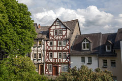 Old city wetzlar germany Royalty Free Stock Photos