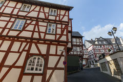 Old city wetzlar germany. The old city in wetzlar germany royalty free stock photo