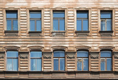 Old City Windows Stock Photography