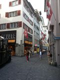 Old city Zurich Royalty Free Stock Photos