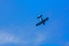 Old civil plane AN2 airplane Royalty Free Stock Photography
