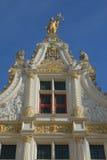 Old Civil Registry in renaissance style in Bruges Stock Images