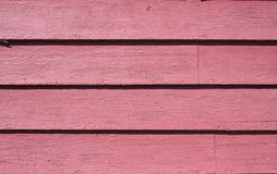 Old clapboards painted red Royalty Free Stock Photo