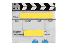 Old clapper board Royalty Free Stock Images