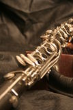 Old clarinet-2 Stock Images