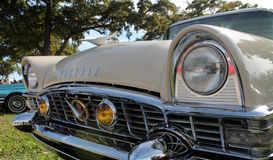 Old classic american car detail Royalty Free Stock Photo