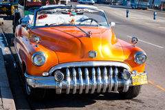 Old classic american car in Havana Stock Photography