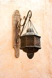 Old classic Arab lamp Royalty Free Stock Images