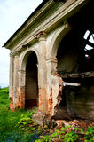 Old classic arch. Old ruined classical arches in the building Royalty Free Stock Image