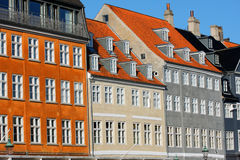 Old classic architecture of Nyhavn in Copenhagen, Denmark Royalty Free Stock Image