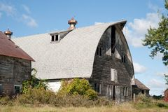 Old Classic Barn. Classic old barn in Schenectady County, New York Stock Image
