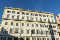 Old classic building in Rome, Italy Royalty Free Stock Photo