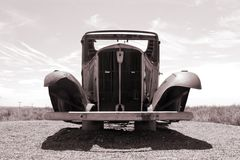 Old classic car. Old classic American vintage car Royalty Free Stock Photography