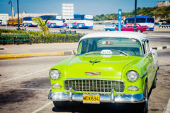 Old classic car in Havana, Cuba Stock Photo
