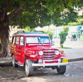 Old classic car in Havana, Cuba Royalty Free Stock Image