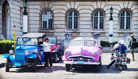 Old classic car in Havana, Cuba Stock Image