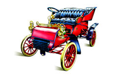 Old classic car retro vintage Royalty Free Stock Photography