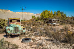 Old Classic Cars and Trucks Stock Photography