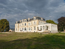 Old classic french castle Stock Photo