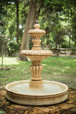 Old classic garden fountain Stock Photos