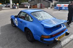 Old Classic 911. Lovely 911 Just Perfect at the six hours of Spa classic Royalty Free Stock Images