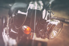 Old classic motorcycles Royalty Free Stock Image