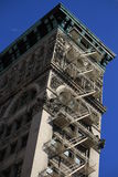Old classic New York, Manhattan building Royalty Free Stock Photos