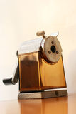 Old classic pencil-sharpener Stock Images