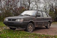 Old classic Polish car Stock Photo