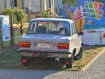 Old classic Polish car Stock Photos