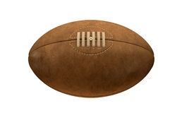 Old Classic Retro Rugby Ball Stock Image