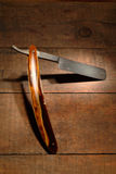 Old Classic Straight Razor Royalty Free Stock Image