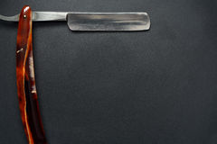 Old Classic Straight Razor Royalty Free Stock Photos