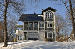 Old classic style house Royalty Free Stock Photo