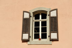 Old classic style window. Stock Image