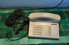 Old classic telephone Stock Photos