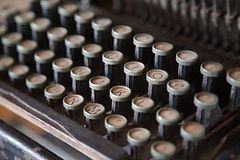 Old Classic Typewriter Royalty Free Stock Images