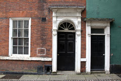 Old classic victorian door Royalty Free Stock Photography