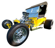 Old Classic Vintage Hot Rod Car Isolated Royalty Free Stock Photos