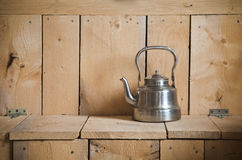Old classic teapot Royalty Free Stock Images