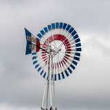Old classic windmill vane Royalty Free Stock Images